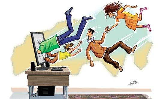 İnternet bağımlılığına şok tedavisi