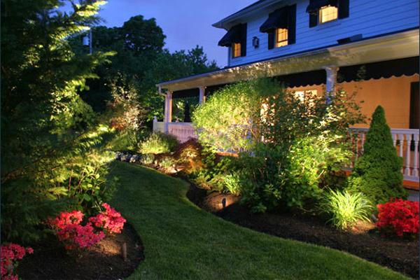 bahçe aydınlatma