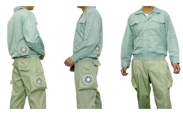klimalı kıyafet